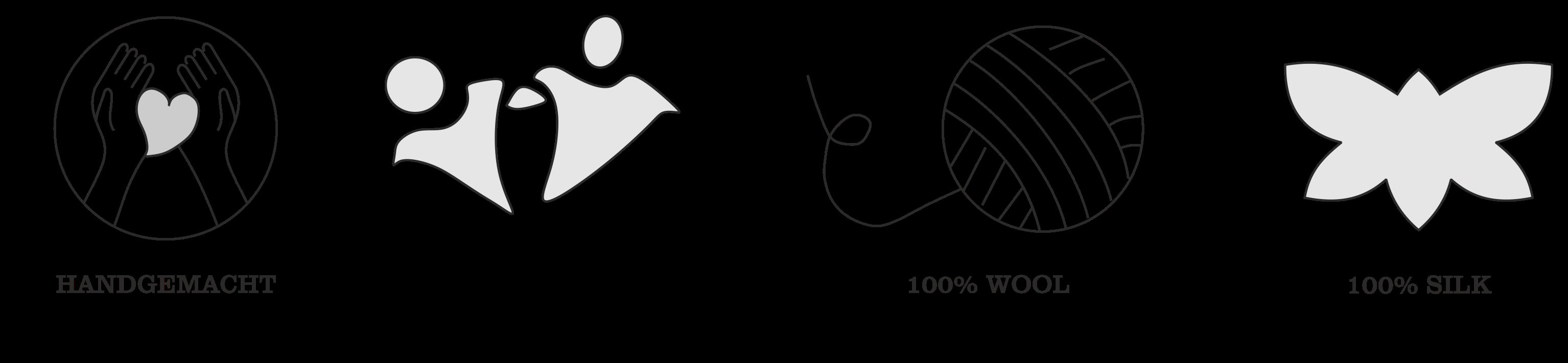Kirgisische filzpantoffeln handgemacht fair hergestellt 100% wolle 100% seide
