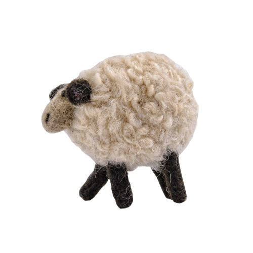 Schaf filzfigur kleine Filzfigur