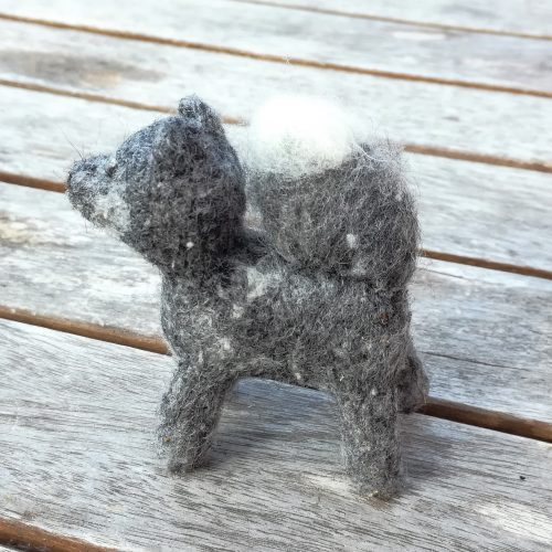 Deko Hund handgemacht