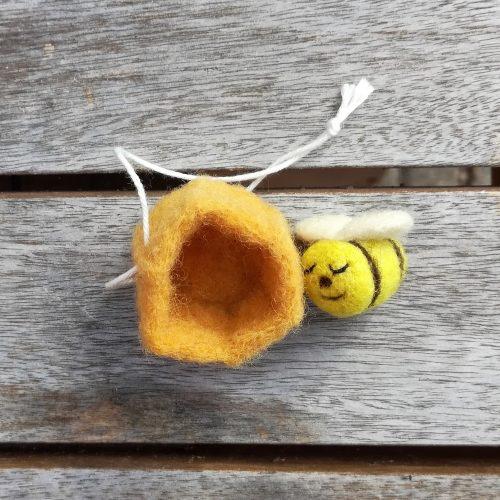 Deko Biene Anhänger