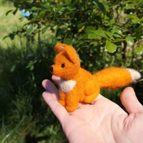 Fuchs aus Wolle