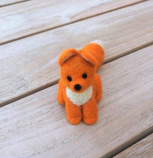 Fuchs kleine Figur