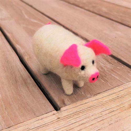 Glücksschweinchen Figur