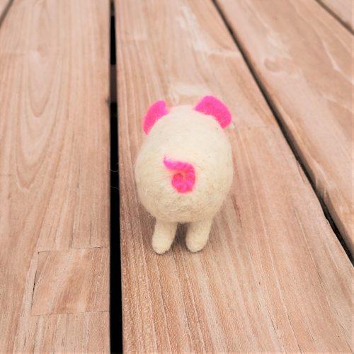 Filzfigur Schweinchen