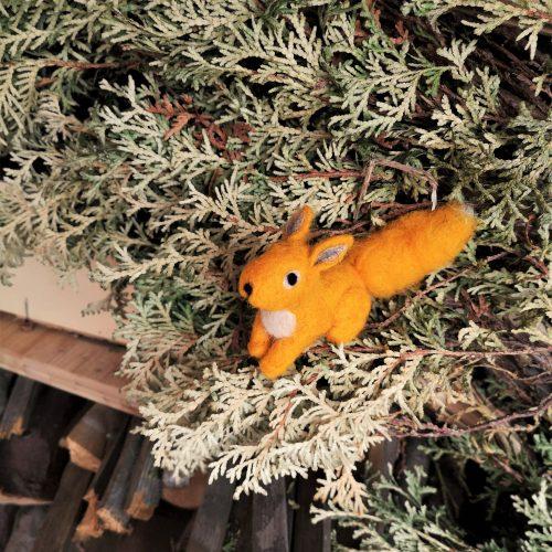 Eichhörnchen gelb