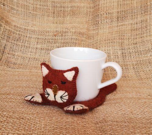 Tassenuntersetzer Katze