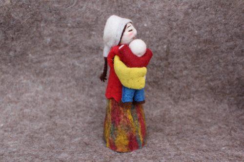 Mutter Figur mit Kind